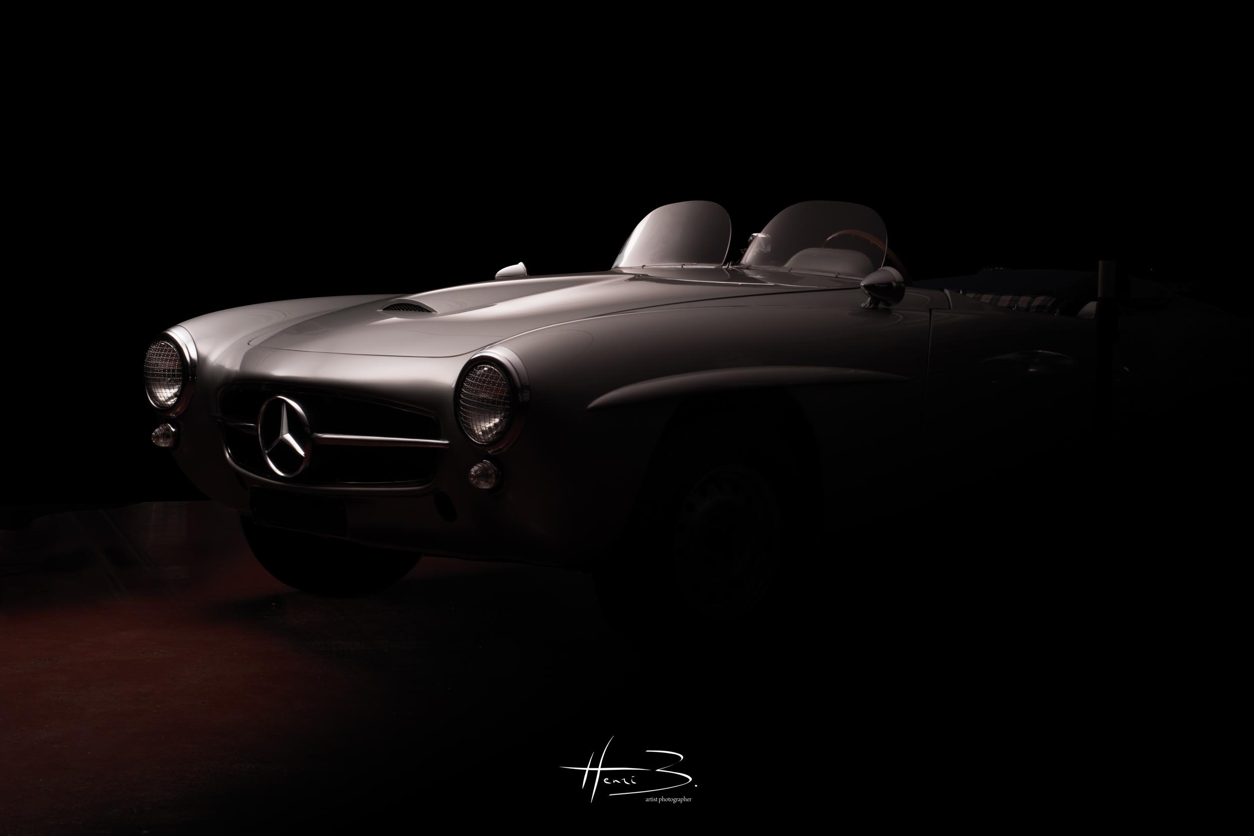 Mercedes 190 SLR de 1955