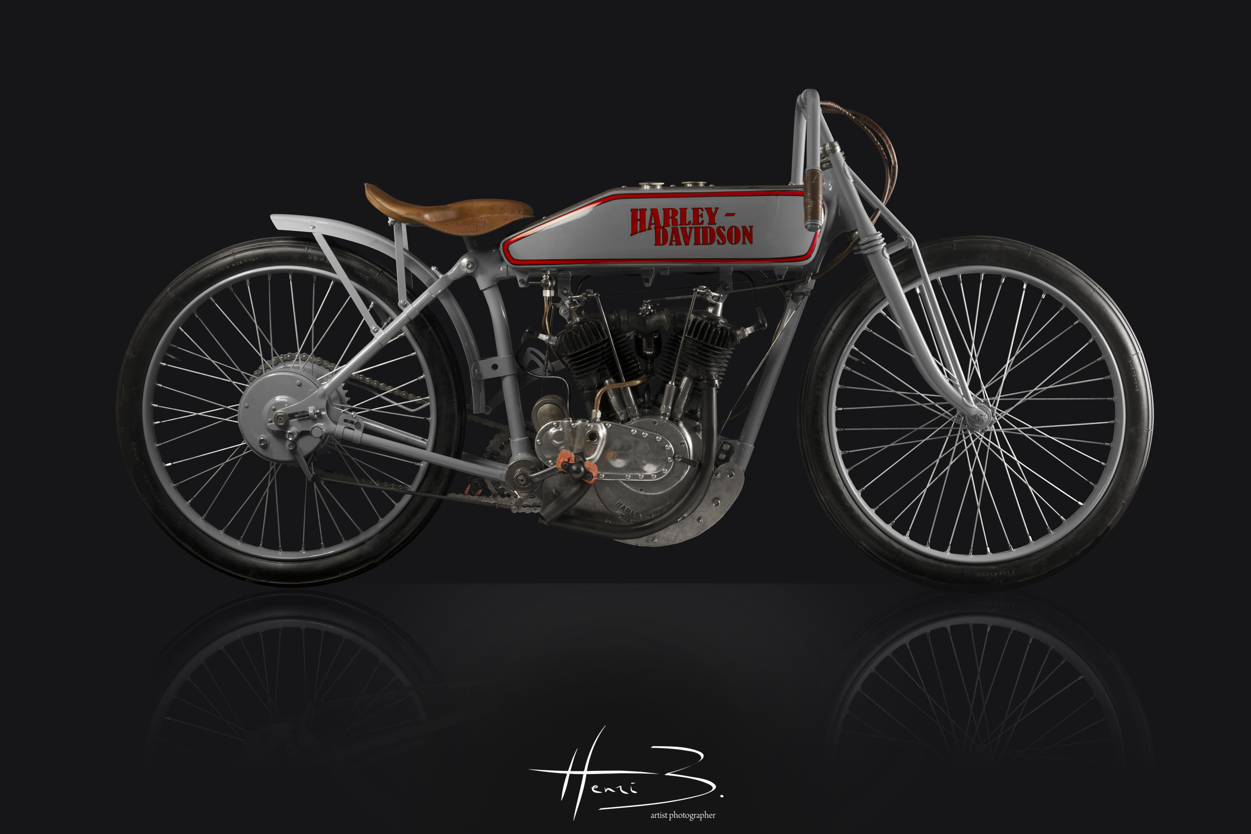 Harley Davidson Bord Track 1919