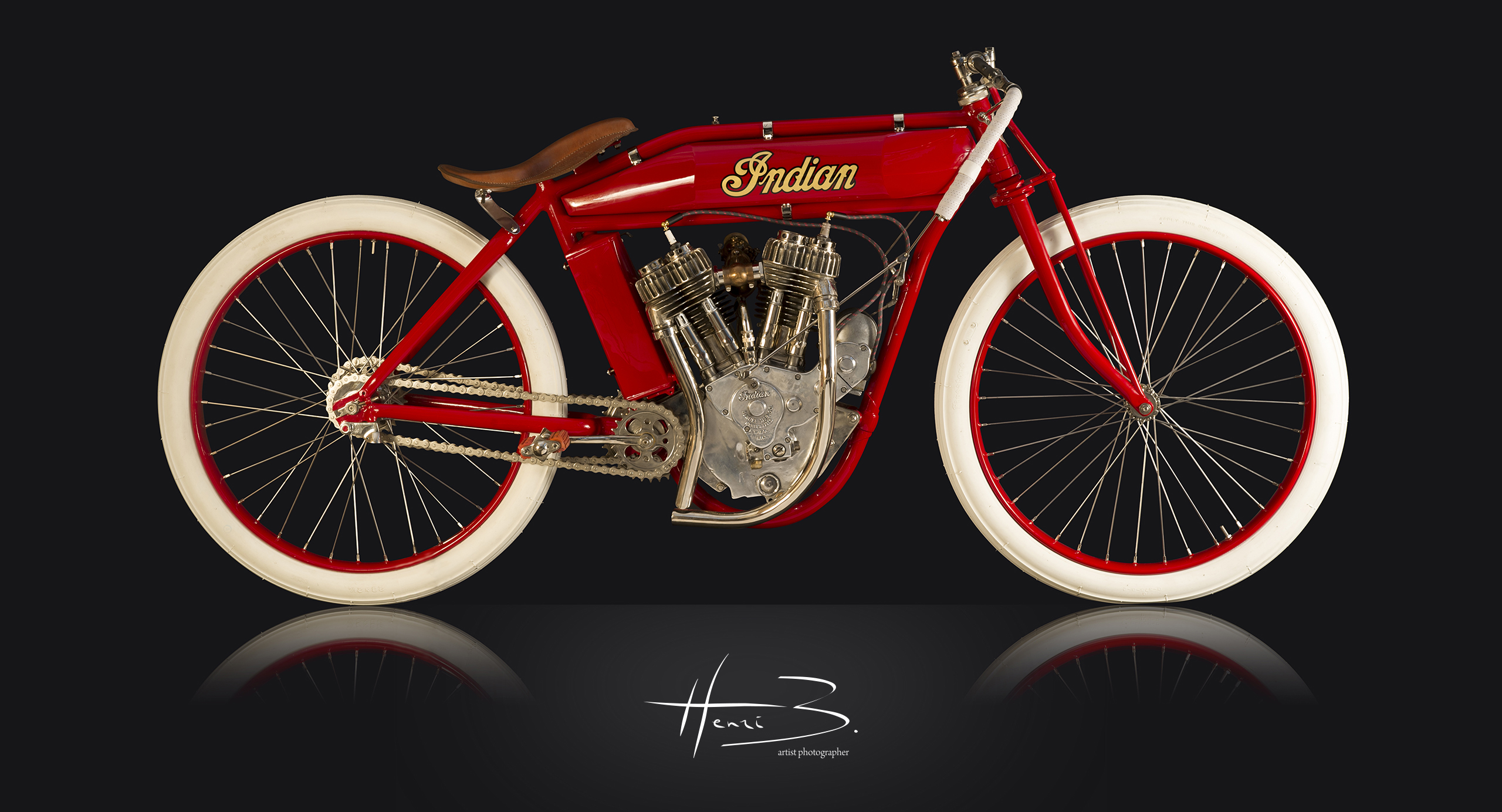 Indian PowerPlus 1000 cc de 1916